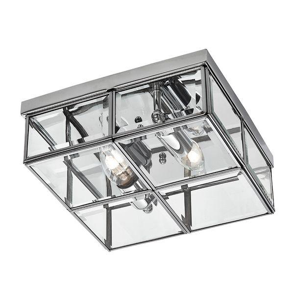 nappali 1. opció Searchlight FLUSH mennyezeti lámpa - 6769-26CC - lámpa, csillár, világítás, Vészi lámpa webáruház