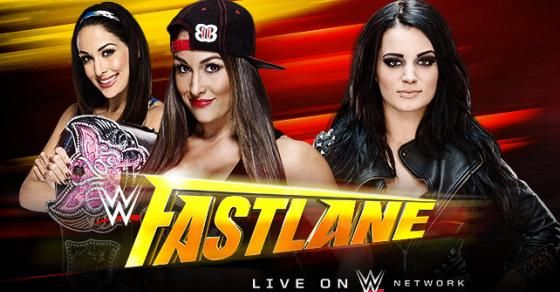 Divas Champion Nikki Bella will defend her title against Paige at WWE Fastlane, live on #WWE Network.