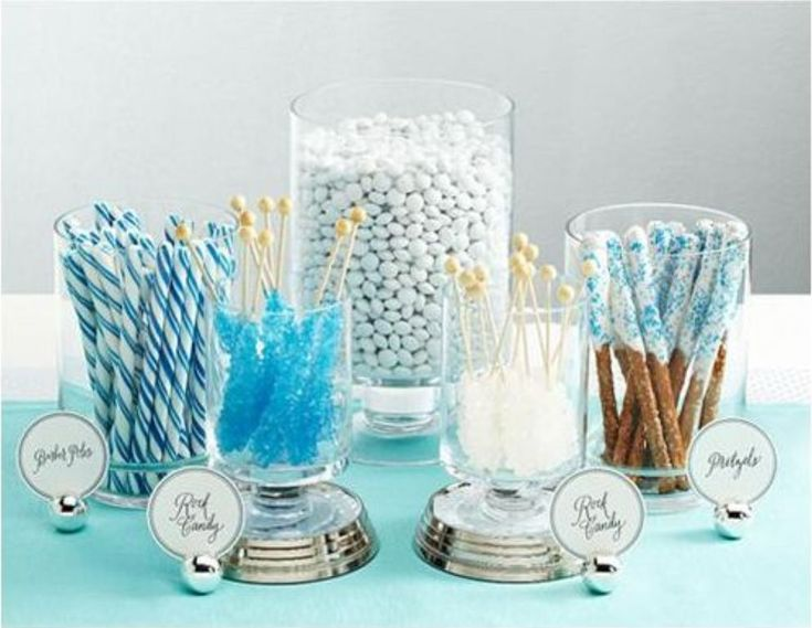 {Wedding Inspiration} How To DIY Your Own Candy Buffet On The Cheap at The Broke-Ass Bride: Bad-Ass Inspiration on a Broke-Ass Budget