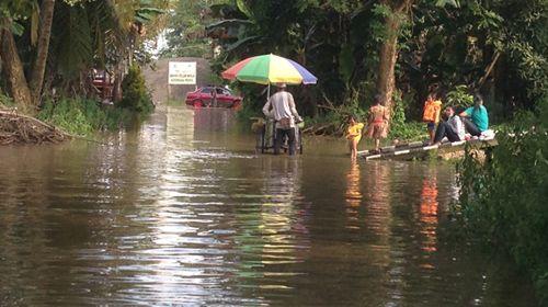 BeritaTerkini.id > SENDAWAR– Ribuan rumah di Kutai Barat terendam banjir sejak Minggu (27/11) ke