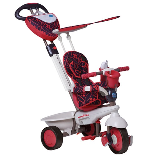 http://idealbebe.ro/smart-trike-tricicleta-dream-in-red-touch-steering-p-14575.html  - Constructie integral din metal  - Suport sticla si jucarie telefon