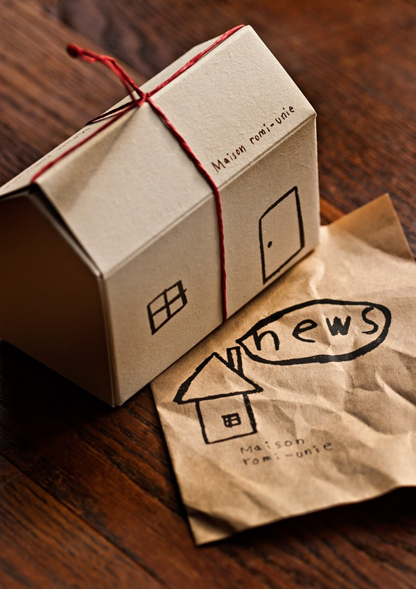 what a simple and beautiful package - shop: maison romie-unie / photo: littleeyecatchers.com