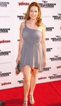 Jenna Fischer red carpet by afkrony