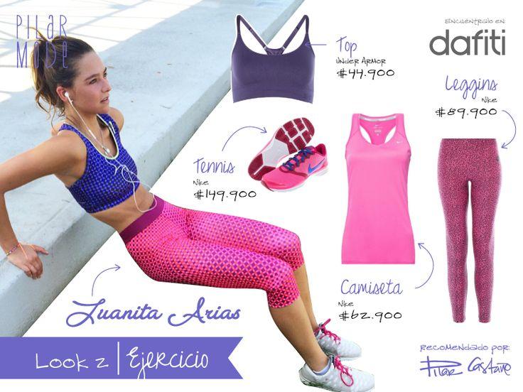 Juanita Arias- Look ejercicio