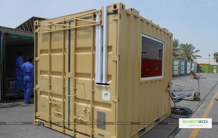 Smart solutions smartbox shipping container for Smart house container