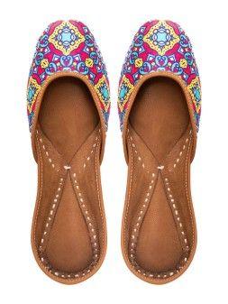 d98d24b638 Punjabi Jutti : Buy Designer Jutti & Women's Mojari Online At Jivaana