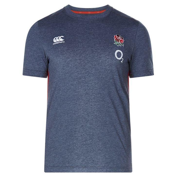 Canterbury England Rugby Cotton T Shirt Mens | RFU Clothing