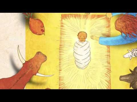 """""""He's Here"""" Christmas Story Video from the Jesus Storybook Bible.  Description from site: It does a great job of setting the story of Jesus' birth in the context of redemptive history.  (Haven't watched yet so don't know what it will be like, but...)"""