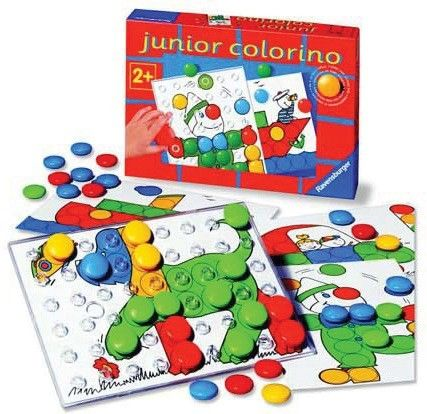 Ravensburger - Game Junior Colourino