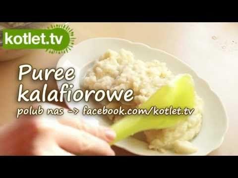 Purée kalafiorowe przepis   Kotlet.TV