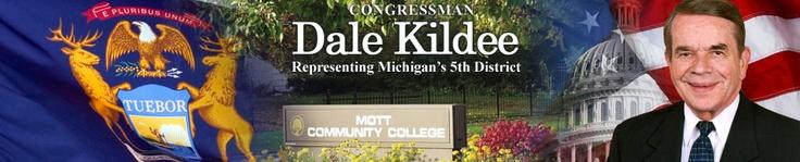 Representative Dale Kildee representing Michigan's 5th District