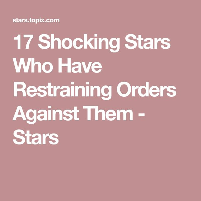 Best 25+ Restraining order ideas on Pinterest You are crazy - restraining order form