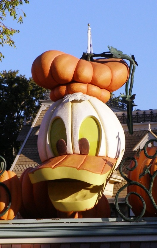 Disneyland Entrance during Halloween Time