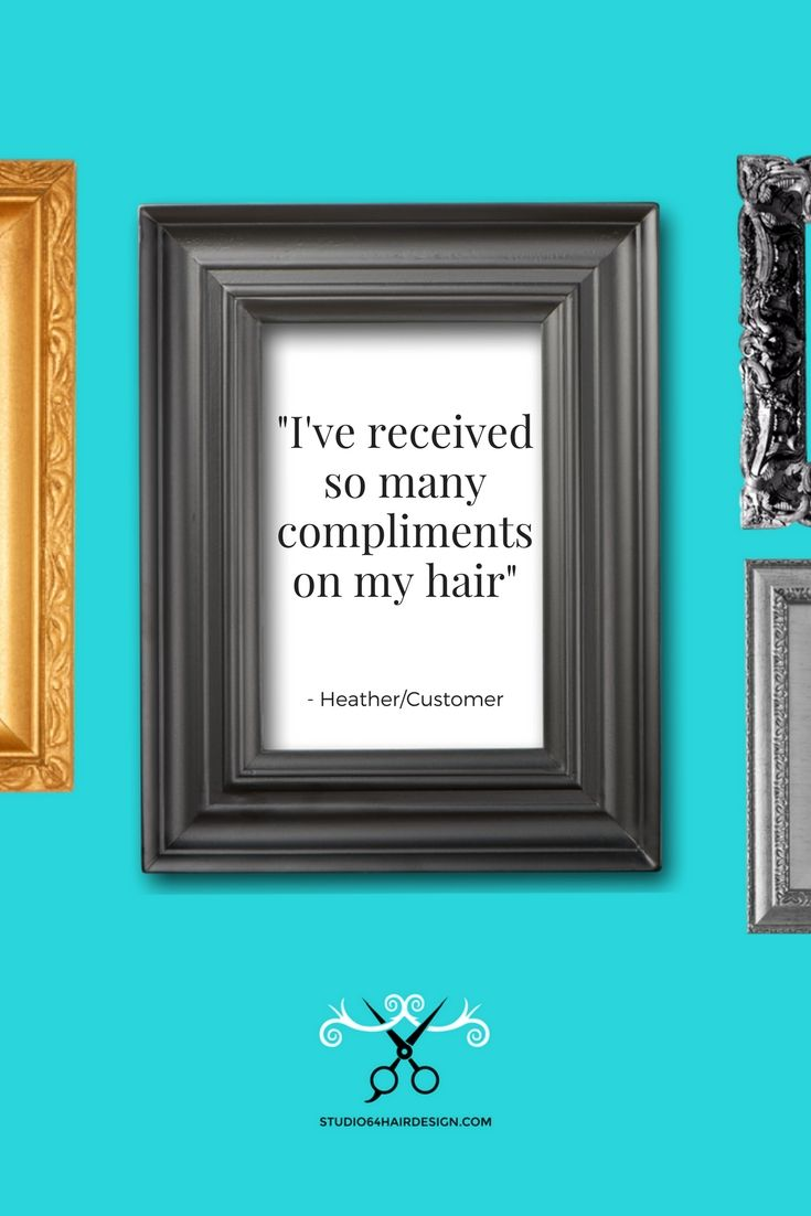 Want compliments on your hair? Quick book online www.studio64hairdesign.com #hairsalon #waxing #pedicure  #tattoomakeup #langleybc