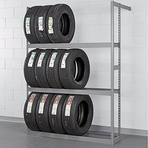 "Tennsco ZST-6084S Automotive Tire Rack 60"" W x 84"" H"