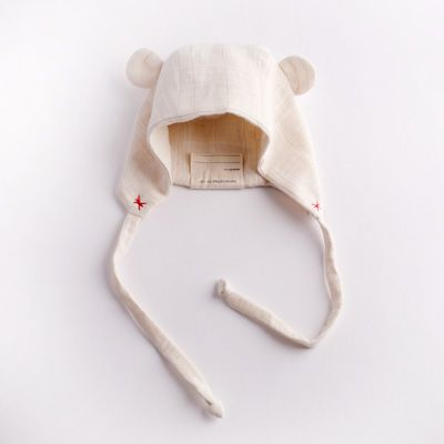 Baby Bear Hat, Pilot Cap for Babies www.elliefunday.com