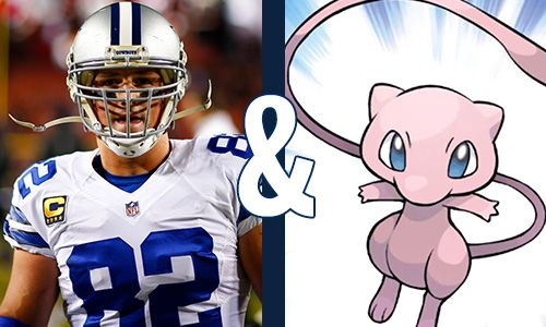 Jason Witten & Mew Jason Witten and Mew are powerful veterans in their respective games and constantly put up impressive stats. You can always find them inspiring those by both their emotions and rare talents. Previous          Next