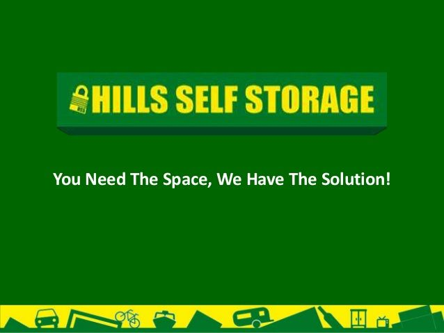 Business storage by Hills Self Storage via slideshare
