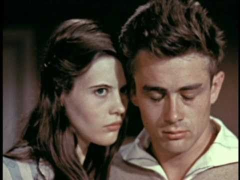 James Dean and Lois Smith (Sookie's grandma) screen test for East of Eden
