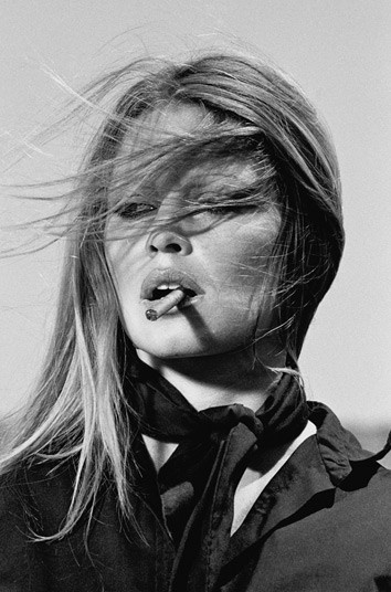 Brigitte Bardot with Cigar, Spain, 1971  Picture: Terry O'Neill