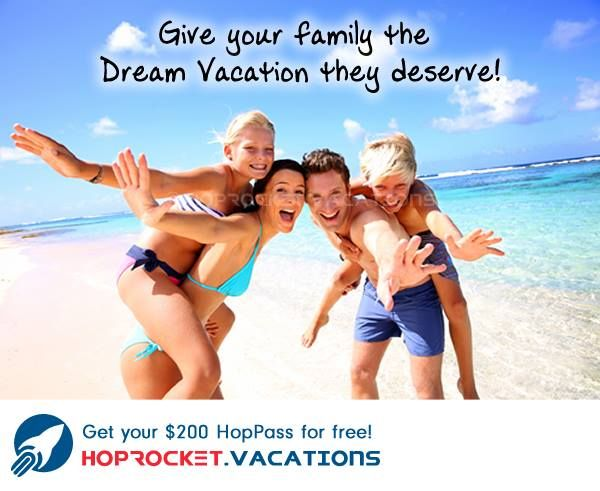 Pack up the kids and take the family on the trip of a lifetime! http://hoprocket.travel/itsaboutlife