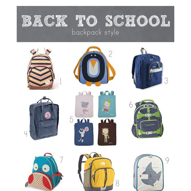 The best (and cutest) backpacks for little ones this year.Backpacks Schoolbag, Back To Schools Backpacks, Bottom Row, Parents Messy, Kids Backpacks, Backpacks Round Up, Modern Parents, Messy Kids, Madison Leigh