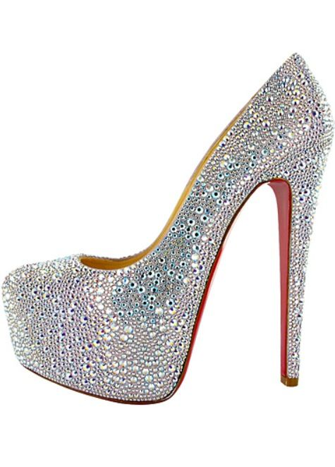 8a2d22b96557 Silver sparkly heels