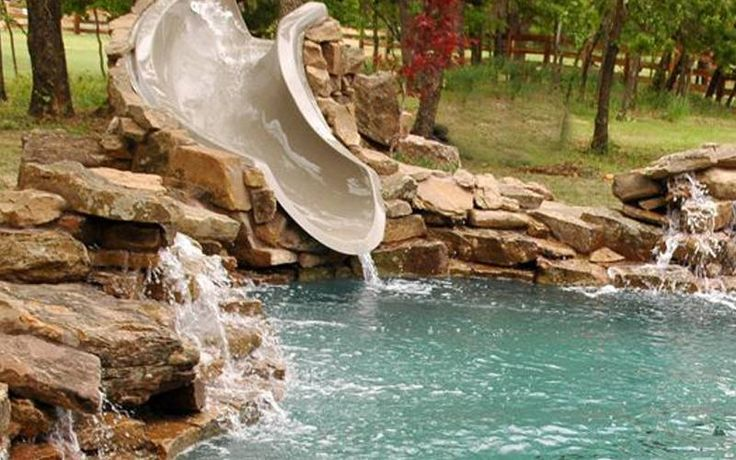 17 Best Ideas About Pool Slides On Pinterest Swimming