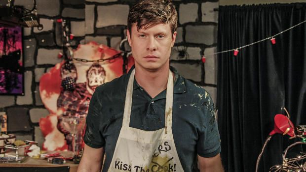 Anders Holm is known as one of Comedy Central's Workaholics, but he's also branched out into writing movies and costarring in them.