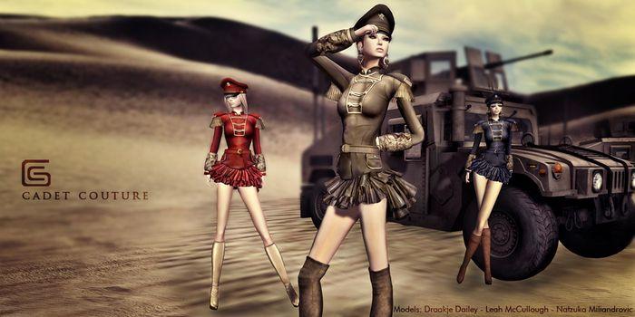 GizzA - Cadet Couture [Black]