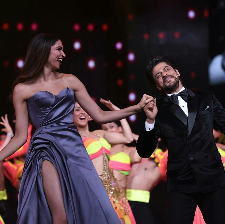 Deepika and Shahrukh