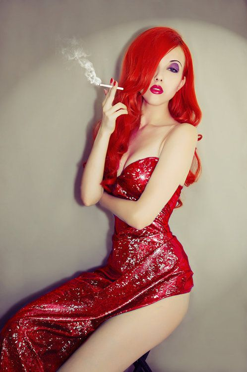 If i was 20 sizes smaller- in a heartbeat!  Jessica Rabbit Cosplay