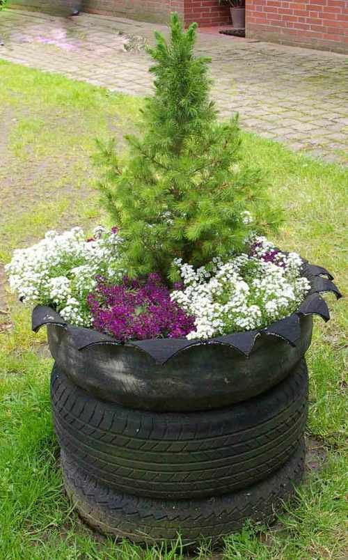 222 best images about reifen recycling ideen on pinterest for Autoreifen gartendeko