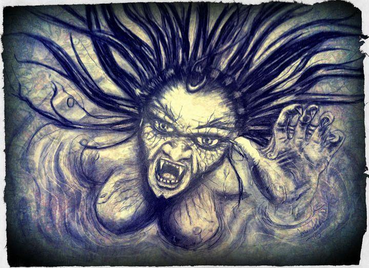 True mermaid - TiJa Art