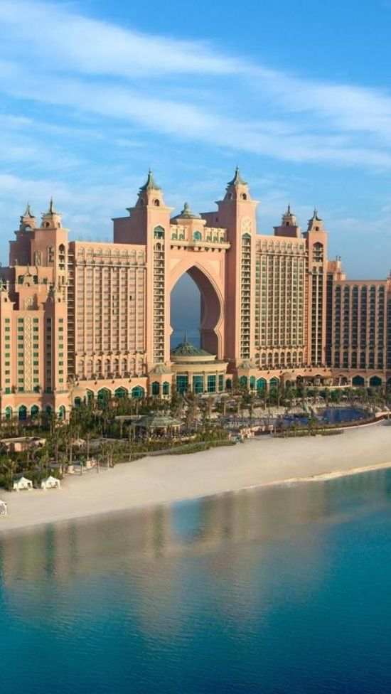 Atlantis, The Palm is one of the first resort to be built on the artificial island, Palm Jumeirah. This resort is based on myth of Atlantis and includes some distinct Arabic elements. This resort was opened in September 24, 2008 and has two accommodation wings which are knows as Royal Towers.