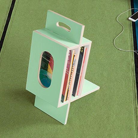 Inquadro Magazine Rack - Green - alt_image_three