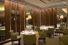 Gordon Ramsey Restaurant, London, England. 2 times I've eaten here, both amazing. Top 3. Lunch with Stuart Collins.