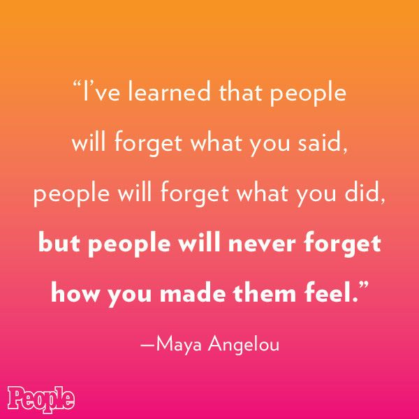 Maya Angelou Quote People Will For Get: Inspirational Quotes About Remembering. QuotesGram