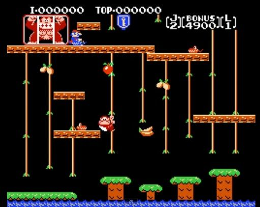 Retropelit - Donkey Kong Junior