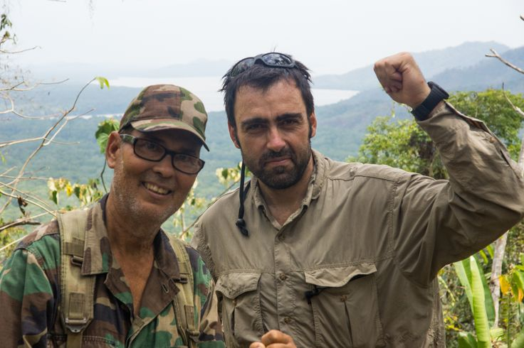 Alberto Flechoso con Puleyo
