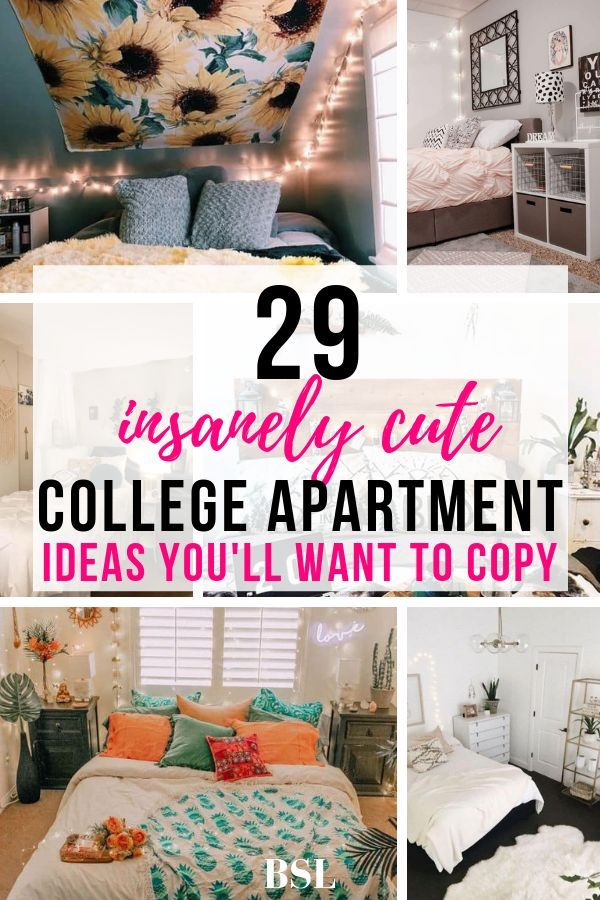 29 Genius College Apartment Bedroom Ideas You Ll Want To Copy By