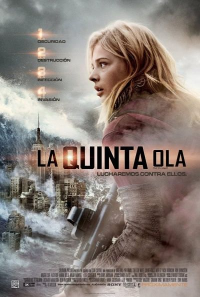 Póster de La Quinta Ola (The Fifth Wave)