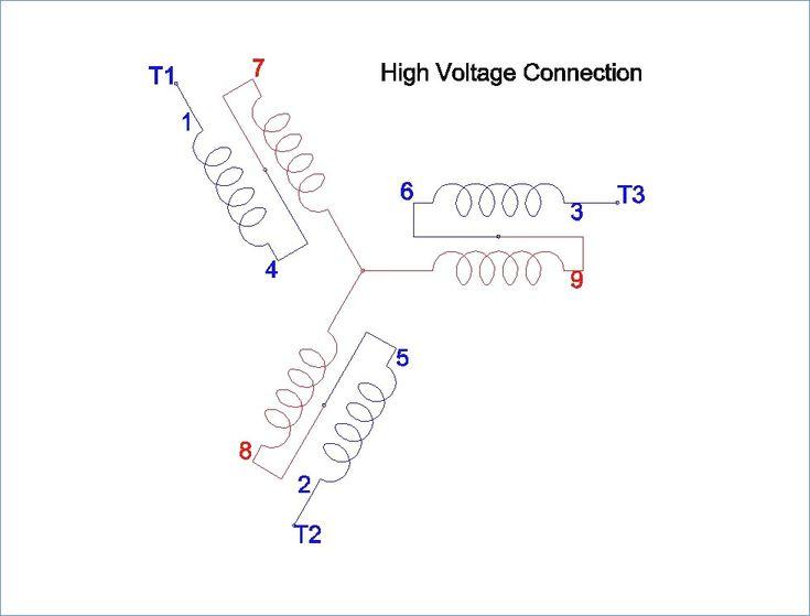 Dual voltage single phase motor wiring diagram kanvamath