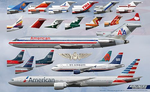 History of American Airlines and US Airways