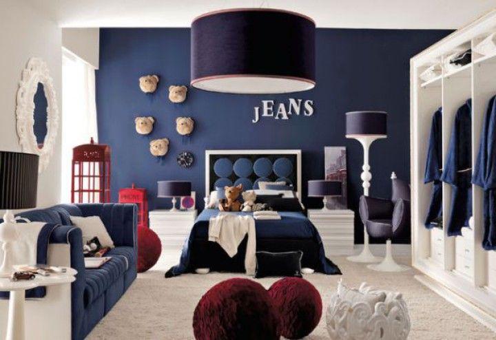 Déco chambre garçon en bleu- 20 inspirations fascinantes pour vous!