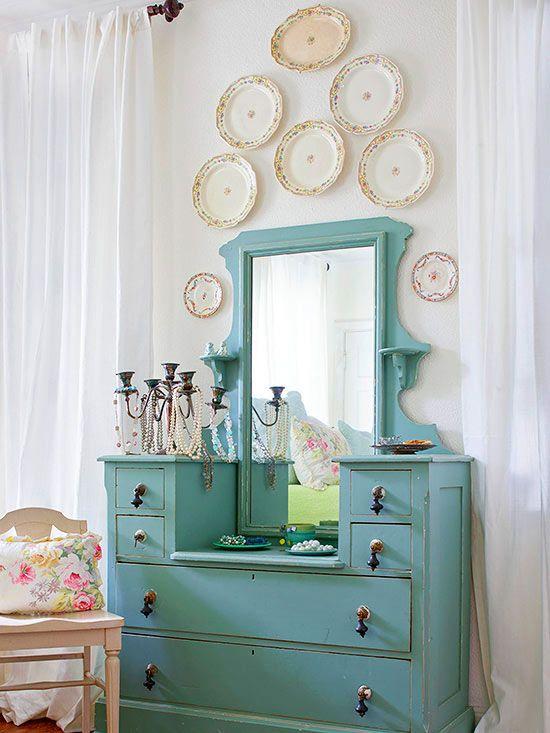 17 best images about frugal decor from plates on pinterest - Decoracion paredes vintage ...