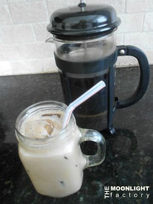 French Press Mexican Ice Coffee...Nectar of the Gods!