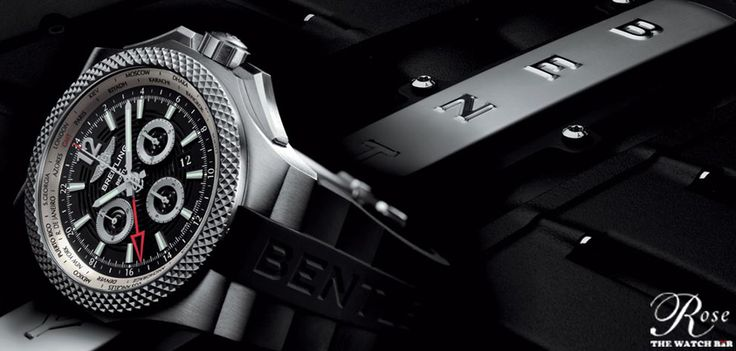 Breitling for #Bentley collection celebrates its 10th anniversary.  The decade old partnership between the two iconic brands revealed a new timepiece called the Bentley GMT Light Body B04.  #Baselworld2014 Bentley Motors