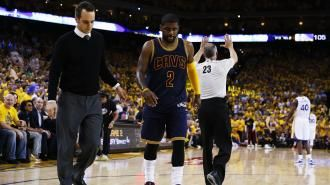 Kyrie Irving calls knee injury a 'test of will' as he begins working out | NBA | Sporting News