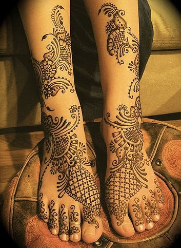 Indian Wedding Henna www.weddingsonline.in